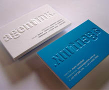 Standard paper business cards 7daysprint embossing business cards reheart Gallery