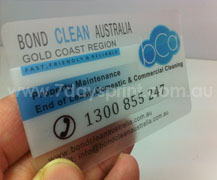 Frosted plastic business cards printing from only 79957daysprint delivery estimate reheart Choice Image